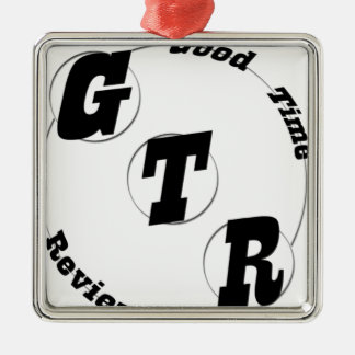 GTR Gang Silbernes Ornament