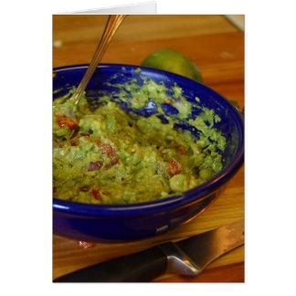 Guacamole-Avocados Karte