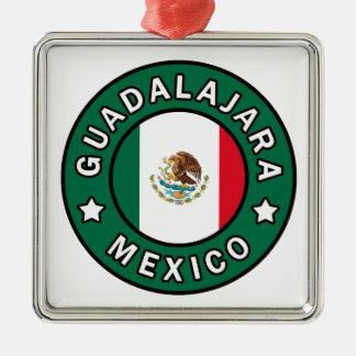 Guadalajara Mexiko Silbernes Ornament