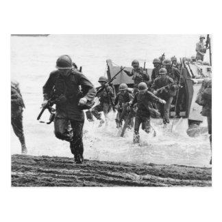 Guadalcanal-Landung Postkarte