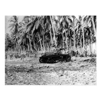 Guadalcanal Postkarte