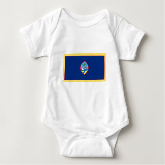 Guam-Flagge Baby Strampler