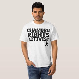 GUAM LASSEN 671 den Chamoru Recht-Aktivisten Hemd