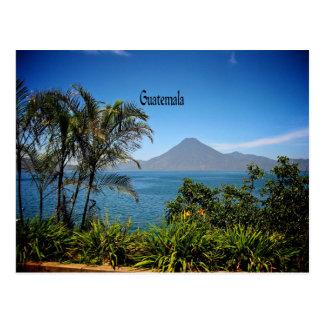 Guatemala, die schöne Landschaft der Natur Postkarte