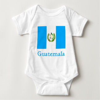 Guatemala-Flagge Baby Strampler