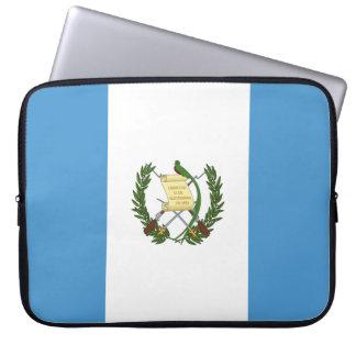 Guatemala-Flagge Laptopschutzhülle