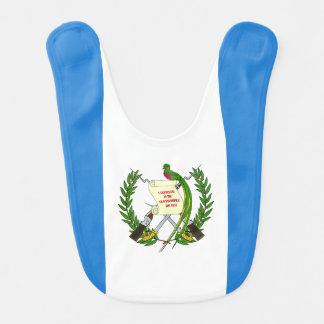 Guatemala-Flagge Lätzchen