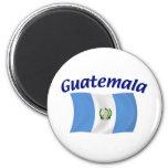 Guatemala-Flagge Magnets