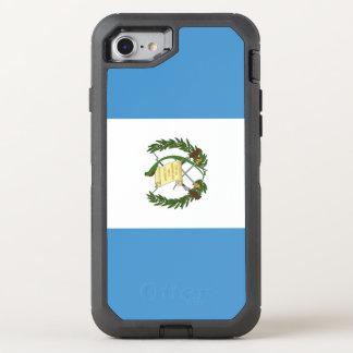 Guatemala-Flagge OtterBox Defender iPhone 8/7 Hülle