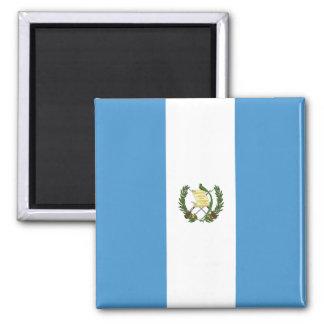 Guatemala-Flagge Quadratischer Magnet