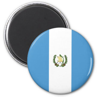 Guatemala-Flagge Runder Magnet 5,1 Cm
