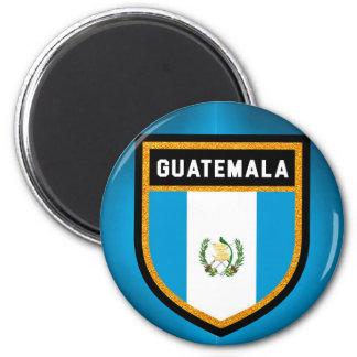 Guatemala-Flagge Runder Magnet 5,7 Cm