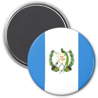 Guatemala-Flagge Runder Magnet 7,6 Cm