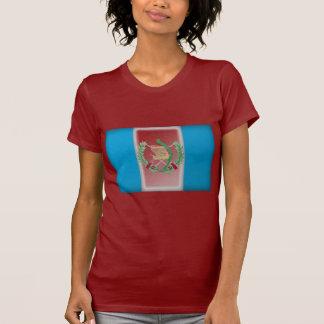 Guatemala-Flagge T-Shirt