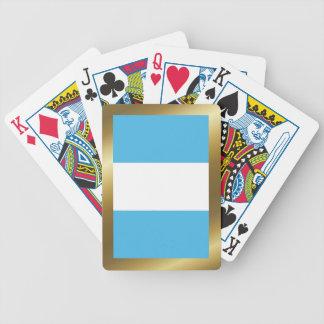 Guatemala-Flaggen-Spielkarten Bicycle Spielkarten