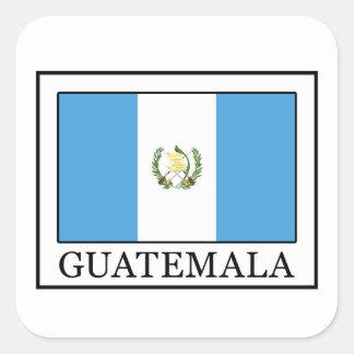 Guatemala Quadratischer Aufkleber