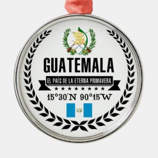 Guatemala Silbernes Ornament
