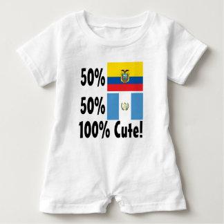 Guatemalteke 100% 50% Ecuadorian-50% niedlich Baby Strampler