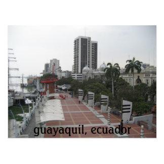 Guayaquil, Ecuador Postkarte