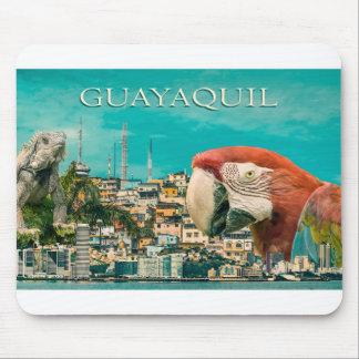 Guayaquiltouristischer Postentwurf Mousepad