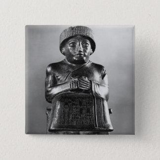 Gudea, Prinz von Lagash Quadratischer Button 5,1 Cm