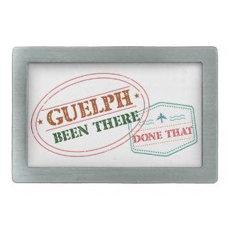 Guelph dort getan dem rechteckige gürtelschnalle