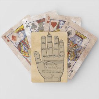 Guidonian Handmittelalterliche Musik-Theorie Bicycle Spielkarten