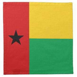 Guinea-Bissau Flaggen-Serviette Stoffserviette