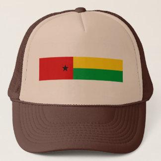 Guinea-Bissau Landesflaggenations-Symbol langes Truckerkappe