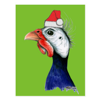 Guinea Weihnachtsmann Postkarte