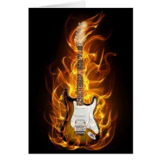 Guitair Flammen Karte