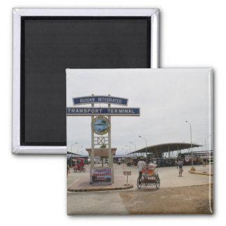 Guiuan Autobusstation Quadratischer Magnet