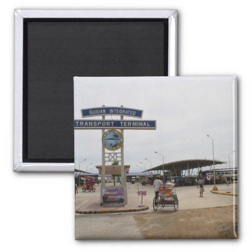 Guiuan Autobusstation Magnete