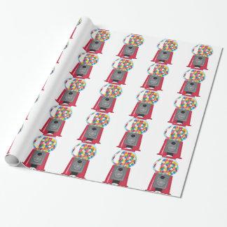 Gumball Maschine Geschenkpapier