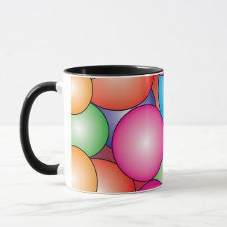 Gummi-Ball-Süßigkeit Tasse