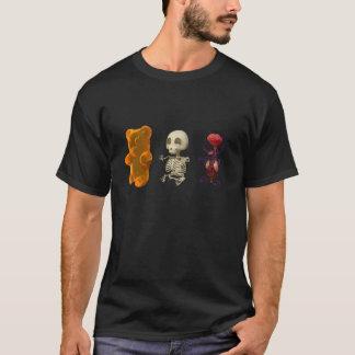 Gummi Bärn-Anatomie-Reise DUNKELHEIT T-Shirt