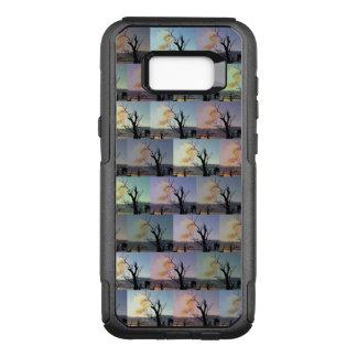Gummi-Baum-abstrakte Kunst, OtterBox Commuter Samsung Galaxy S8+ Hülle