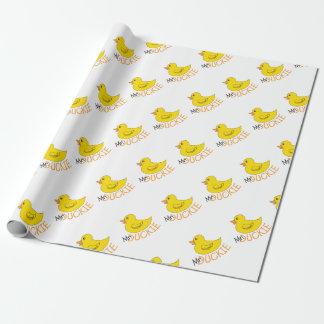 Gummi Ducky Geschenkpapier