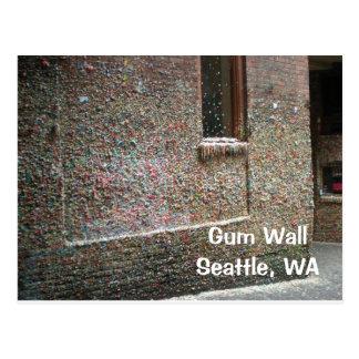 Gummi-Wand-Postkarte Postkarte