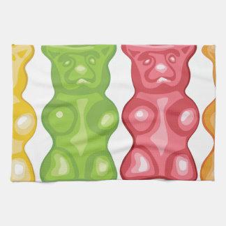 Gummiartige Bären Küchentuch
