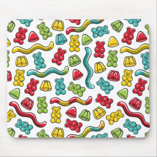 Gummiartige Bärn-Süßigkeits-Süßigkeitens-buntes Mousepad