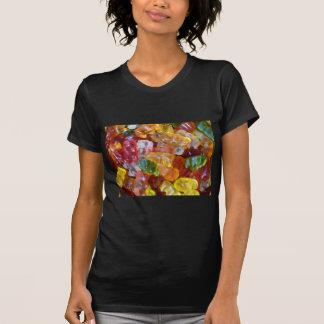 Gummiartiger Bärn-Hintergrund T-Shirt