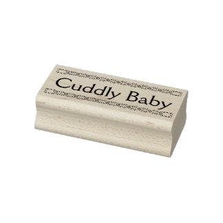GummiBriefmarke des Cuddly Babys, neue Gummistempel