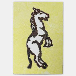 GummiBriefmarke, Pferd Post-it Klebezettel