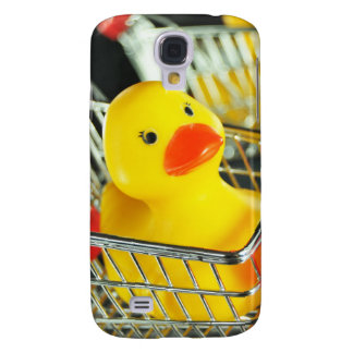 Gummientenbaby-Einkaufskonzept Galaxy S4 Hülle