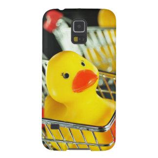 Gummientenbaby-Einkaufskonzept Samsung S5 Hüllen