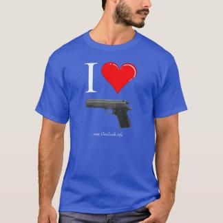GunLink I Pistolen Liebe-1911 (Herz) T-Shirt