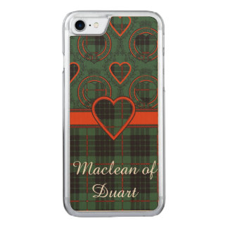 Gunn-Clan karierter schottischer Tartan Carved iPhone 8/7 Hülle