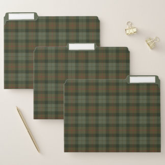 Gunn verwitterte ursprünglichen schottischen papiermappe