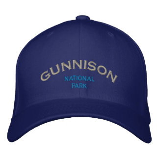 Gunnison Nationalpark Bestickte Kappe